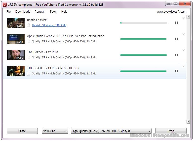 Free youtube to ipod converter 3113610 free download screenshot stopboris Choice Image